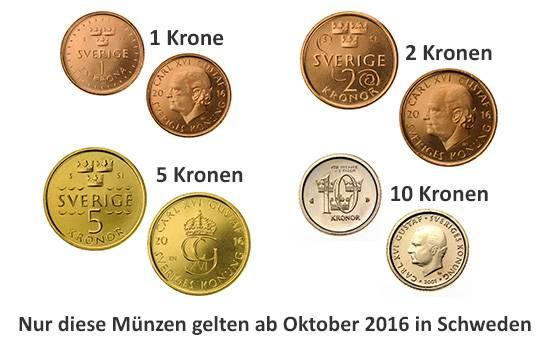Schweden Währung Schwedische Kronen Sek Umrechnungskurs Geld In