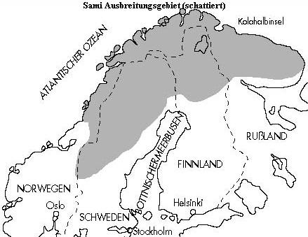 Lappland Karte.Lappland Das Sami Volk In Lappland Nordschweden