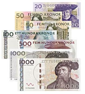 2000 schwedische kronen euro